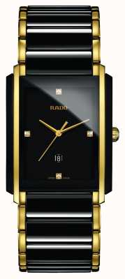 Rado | Integral Diamonds | High-Tech Ceramic | Black Square Dial R20204712