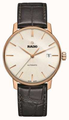 Rado | Coupole Classic Automatic | Brown Leather | Sunray Dial | R22861115