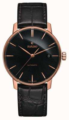 Rado | Coupole Classic Automatic | Brown Leather | Black Dial | R22861165