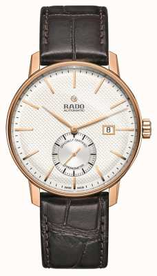 Rado | Coupole Classic Automatic | Brown Leather | White Dial | R22881025