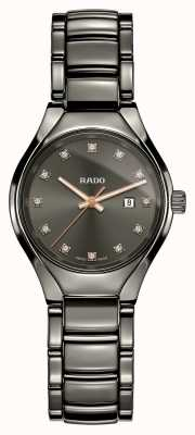 Rado | True Diamonds | Plasma High-tech Ceramic | Grey Dial R27060732