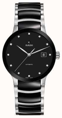 Rado | Centrix Diamonds Automatic | High-Tech Ceramic | Black R30941752