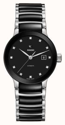 Rado | Centrix Diamonds Automatic | High-tech Ceramic R30009752