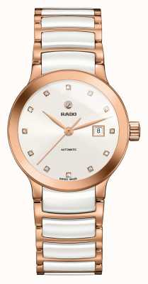 Rado | Centrix Automatic Diamonds | High-tech Ceramic  | White R30183742