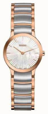 Rado | Centrix | Two Tone Stainless Steel | Pearl Dial | R30186923