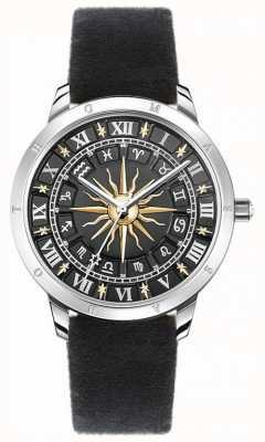 Thomas Sabo | Women's Sun Watch | Black Velvet Strap | Black 3D Sun Dial SET_WA0351-217-203