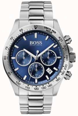 BOSS | Men's Hero Sport Lux | Steel Bracelet | Blue Dial | 1513755