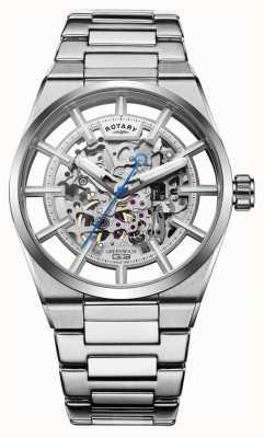 Rotary | Men's Greenwich G3 Automatic | Stainless Steel Bracelet | GB05210/06