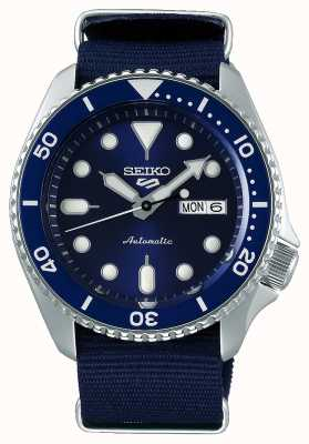 Seiko 5 Sport | Sports | Automatic | Blue Dial | Blue NATO SRPD51K2