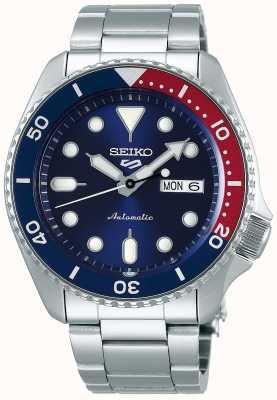 Seiko 5 Sport | Sports | Automatic | Pepsi Bezel | Stainless Steel SRPD53K1