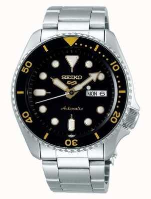 Seiko 5 Sport | Sports | Automatic | Black & Yellow Dial SRPD57K1