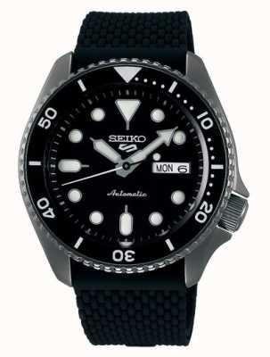 Seiko 5 Sport | Suits | Automatic | Black Dial | Black Rubber SRPD65K2