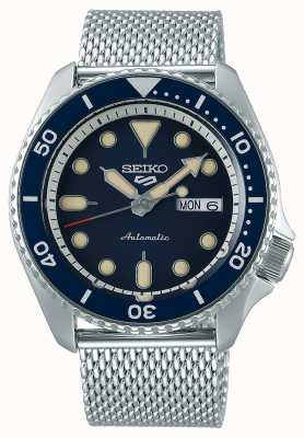 Seiko 5 Sport | Suits | Automatic | Blue Dial | Steel Mesh