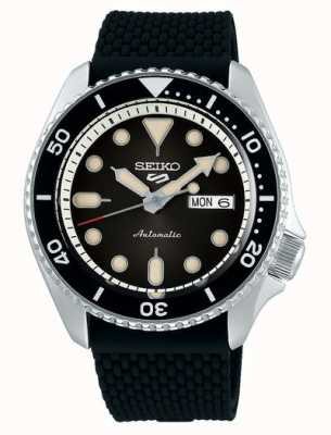 Seiko 5 Sport | Suits | Automatic | Black Dial | Black Rubber SRPD73K2