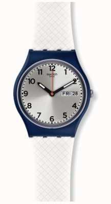 Swatch | Original Gent | White Delight Watch | GN720