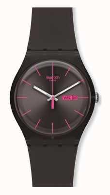 Swatch | New Gent | Brown Rebel Watch | SUOC700