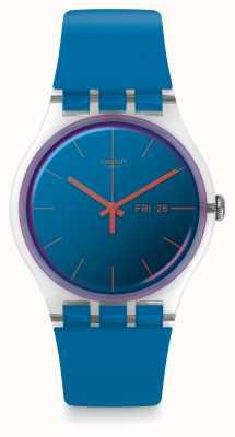 Swatch | New Gent | Polablue Watch | SUOK711