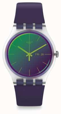 Swatch | New Gent | Polapurple Watch | SUOK712