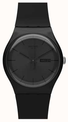 Swatch | New Gent | Black Rebel Watch | SUOB702