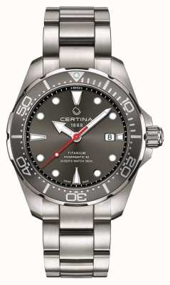 Certina | DS Action | Diver Powermatic 80 | Titanium | C0324074408100