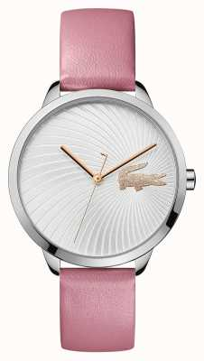 Lacoste | Women's Lexi | Pink Leather Strap | Silver Dial | 2001057