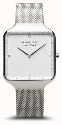 Bering   Max René   Polished Silver   Silver Mesh Bracelet   15836-004