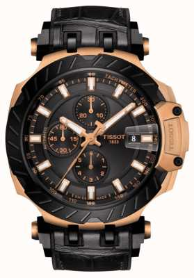 Tissot   T-Race   Automatic Chronograph   Black Rubber Strap   T1154273705101