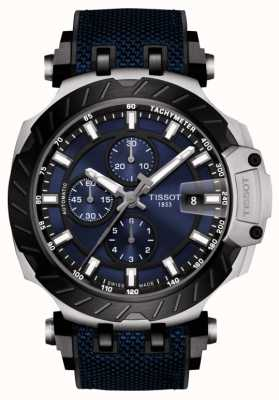 Tissot | T-Race | Automatic Chronograph | Blue Rubber Strap | T1154272704100