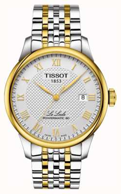Tissot | Le Locle Powermatic 80 | Two-Tone Stainless Steel Bracelet T0064072203301