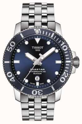 Tissot | Seastar 1000 Powermatic | Stainless Steel Bracelet | T1204071104101