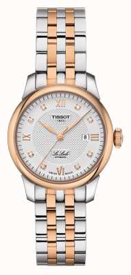 Tissot | Le Locle | Two-Tone Stainless Steel | Silver Dial | T0062072203600