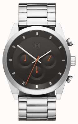 MVMT Element Chrono | Stainless Steel Bracelet | Grey Dial | 28000046-D