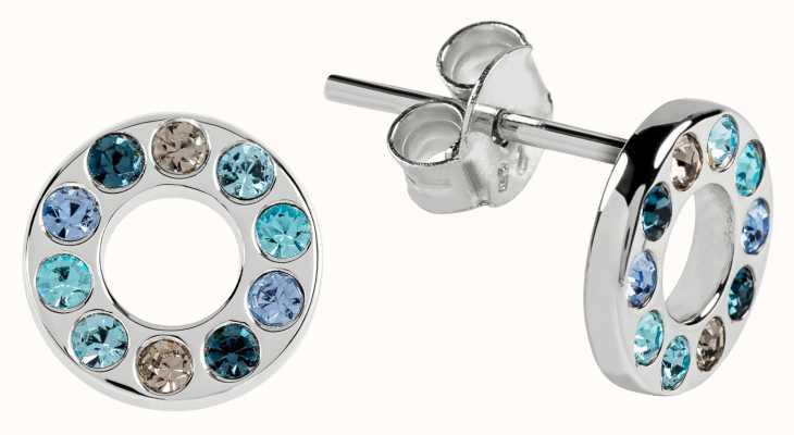 Radley Jewellery Radley Rocks | Silver Coloured Blue Stones Stud Earrings | RYJ1111