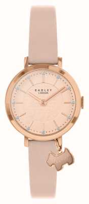 Radley Selby Street | Pink Leather Strap | Pink/Rose Gold Dial | RY2864