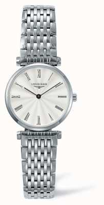 Longines Elegance Classic Silver Strap | White Face | L42094716