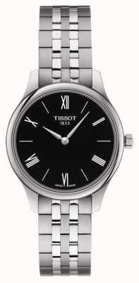 Tissot | Women's Tradition | Stainless Steel Bracelet | Black Dial T0632091105800