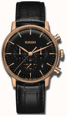 RADO Coupole Classic Quartz Chronograph Black Dial R22911165