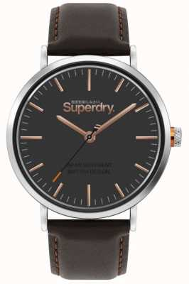 Superdry Oxford | Brown Leather Strap | Brown Dial | SYG287BR
