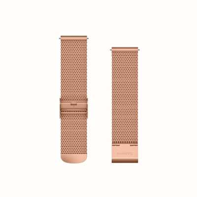 Garmin Quick Release Band, Rose Gold Milanese Band With 18K Rose Go 010-12924-24