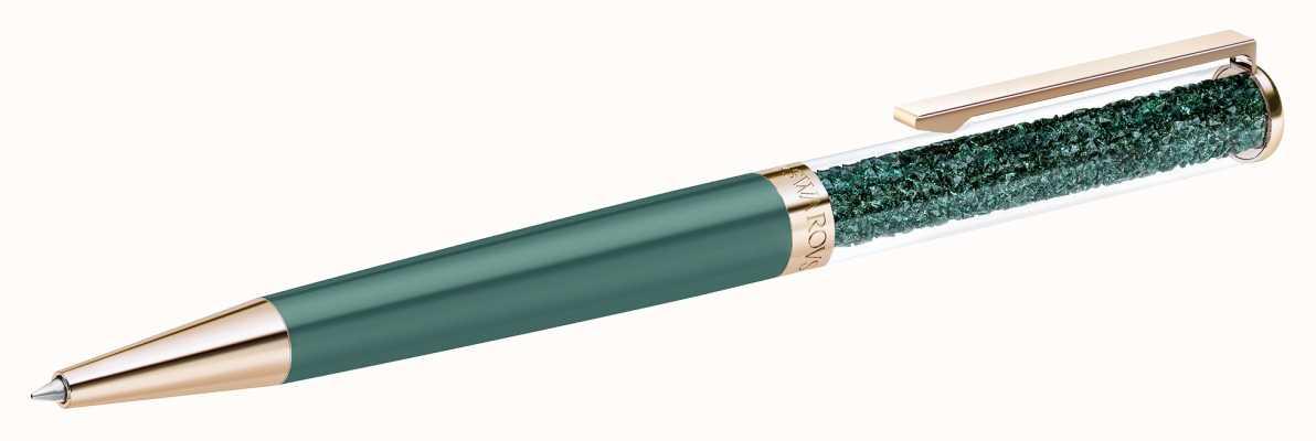 Swarovski Crystalline | Rose-Gold tone Plated | Green |Ballpoint pen 5479562