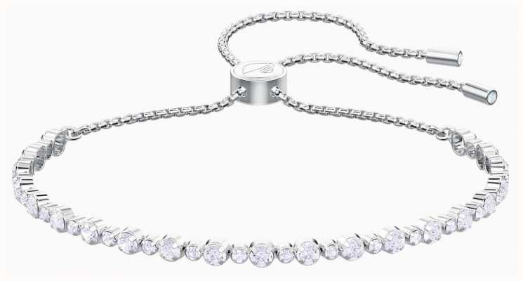 Swarovski Subtle | Bracelet | Rhodium Plated | White 5465384