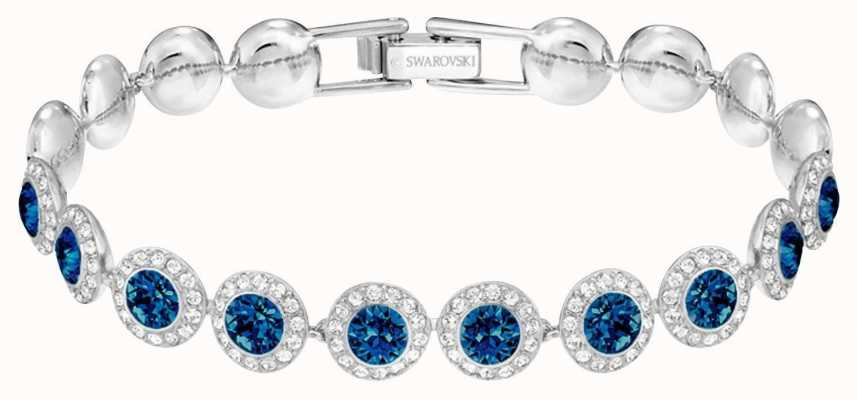 Swarovski Angelic | Rhodium Plated Bracelet | Blue | 5480484