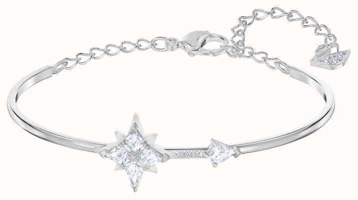 Swarovski Symbolic |Rhodium Plated |White |Star |Bangle 5511401