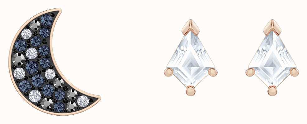 Swarovski Symbolioc   Rose-Gold plated   Multi-Coloured  Earring Set 5494353