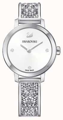 Swarovski | Cosmic Rock | Stainless Steel Bangle Bracelet | White Dial 5376080
