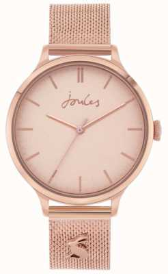 Joules Ryton | Rose Gold Mesh Bracelet | Rose Gold Dial | JSL026RGM