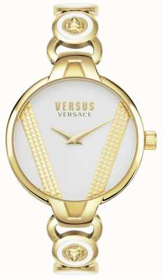 Versus Versace | Saint Germain | Gold Plated Stainless Steel | White Dial | VSPER0219