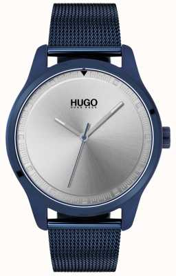 HUGO #MOVE | Blue IP Mesh Bracelet | Blue Dial | 1530045