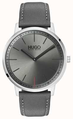 HUGO #Exist | Grey Leather Strap | Grey Dial | 1520009