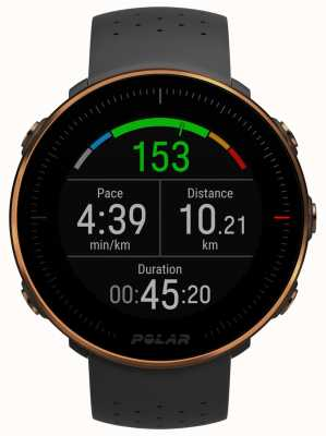Polar | Vantage M | Heart Rate Monitor | Black Rubber | M/LVantage 90080198